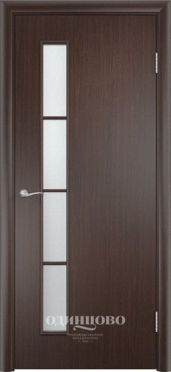 Межкомнатная дверь VERDA С-14 ДО Венге - фото 1