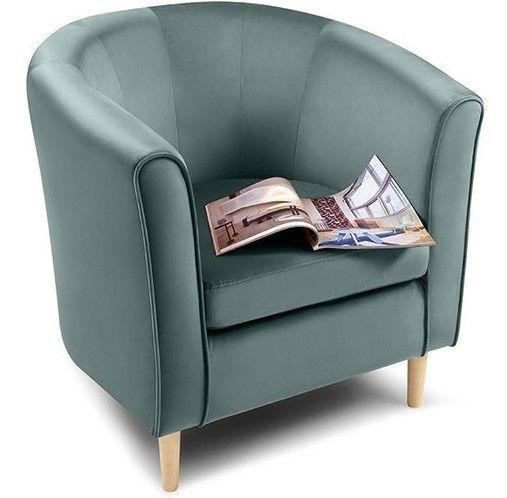 Кресло Woodcraft Лилла Barhat Mint - фото 2