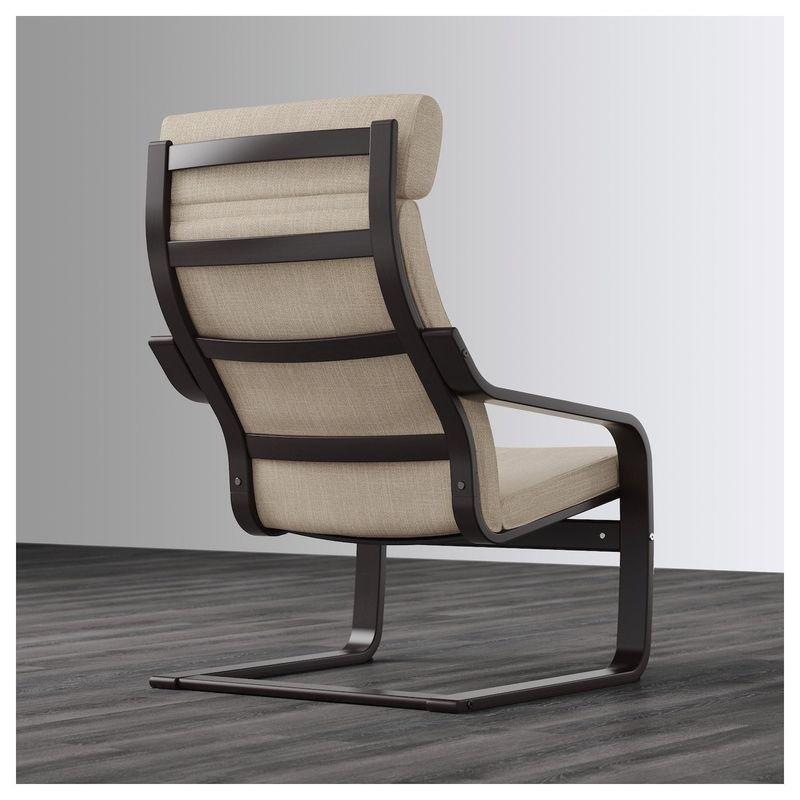 Кресло IKEA Поэнг 992.514.95 - фото 4