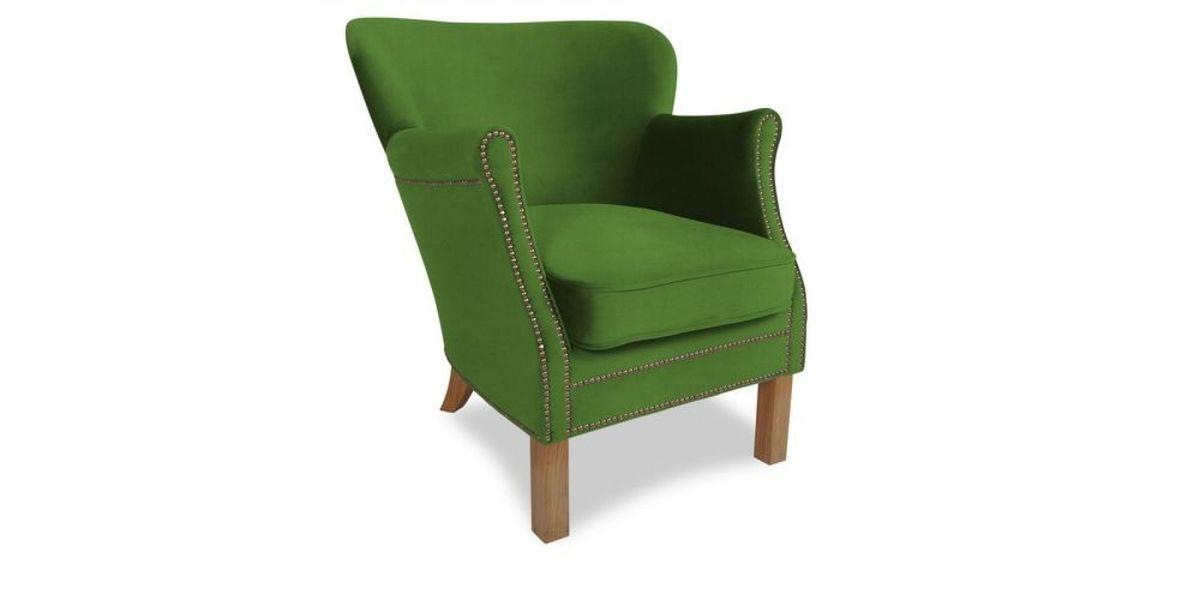 Кресло WOWIN Голден (Зеленый велюр) - фото 1