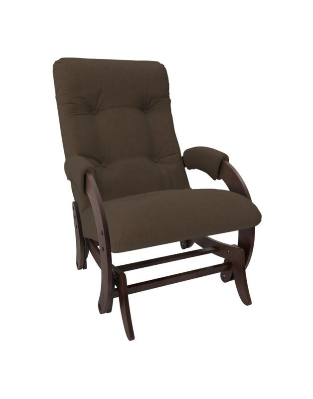Кресло Impex Кресло-гляйдер Модель 68 Montana орех (Montana 802) - фото 2
