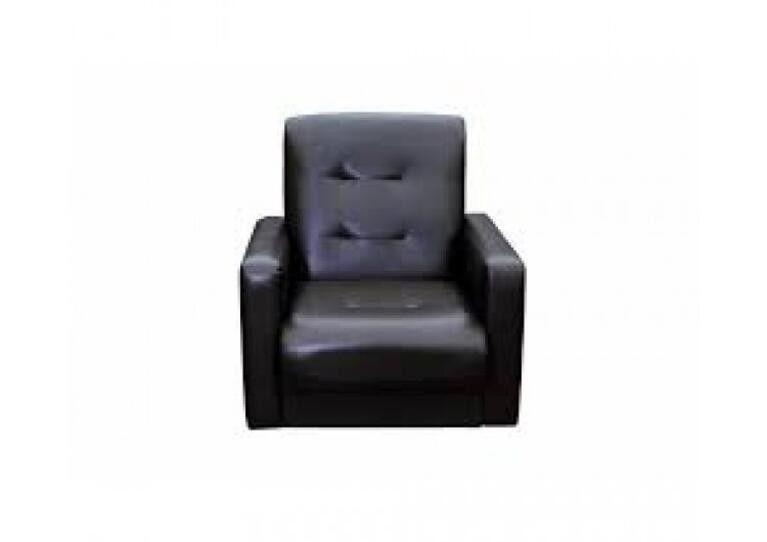 Кресло Craftmebel Аккорд чёрное - фото 1
