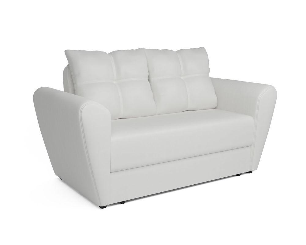 Диван Мебель-АРС Квартет белая экокожа - фото 1