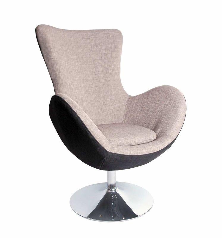 Кресло Halmar BUTTERFLY (серый) V-CH-BUTTERFLY-FOT-POPIEL - фото 1