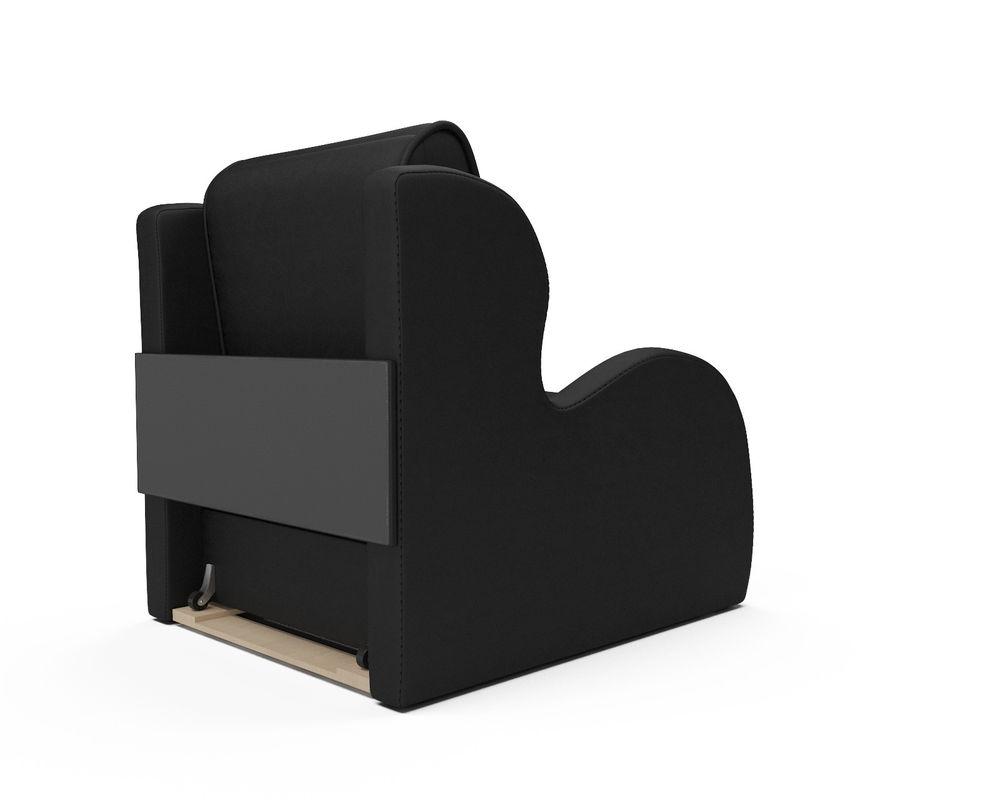 Кресло Мебель-АРС Атлант - черный кожзам - фото 4