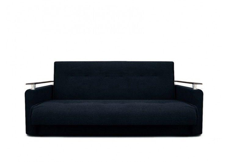Диван Луховицкая мебельная фабрика Милан Люкс (Астра черный) 140x190 - фото 1
