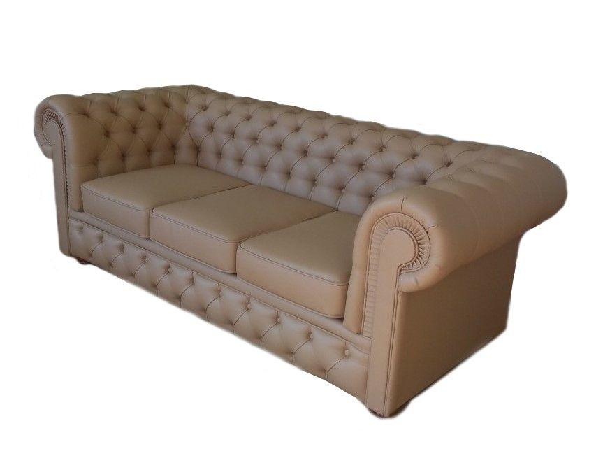 Диван Tiolly Честерфилд 3 (коричневый) - фото 3