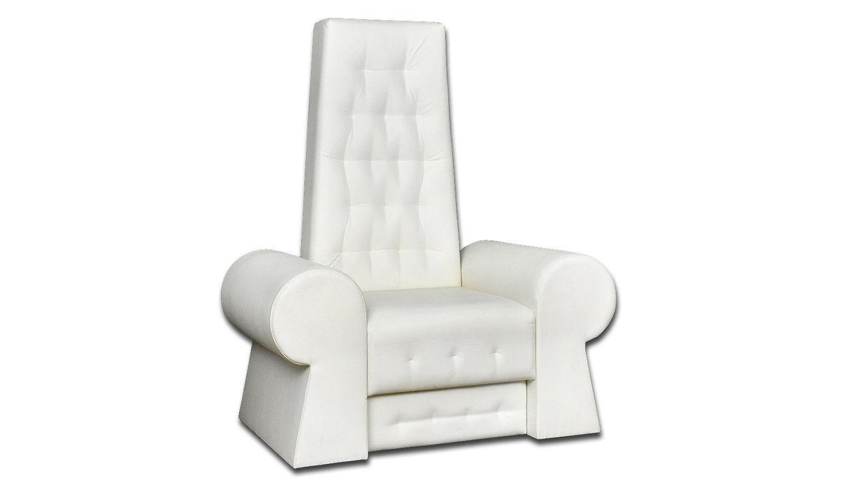 Кресло Блумберг белое - фото 1