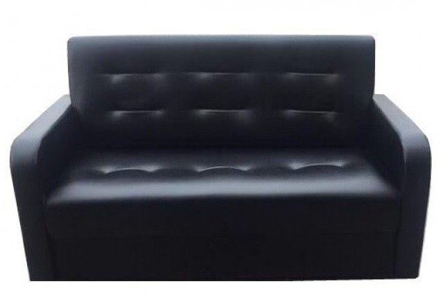 Диван Луховицкая мебельная фабрика Мини аккорд (черный) - фото 2