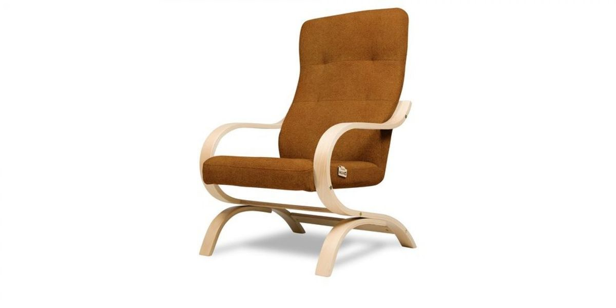 Кресло WOWIN Вейв (Медная эко-замша) - фото 1