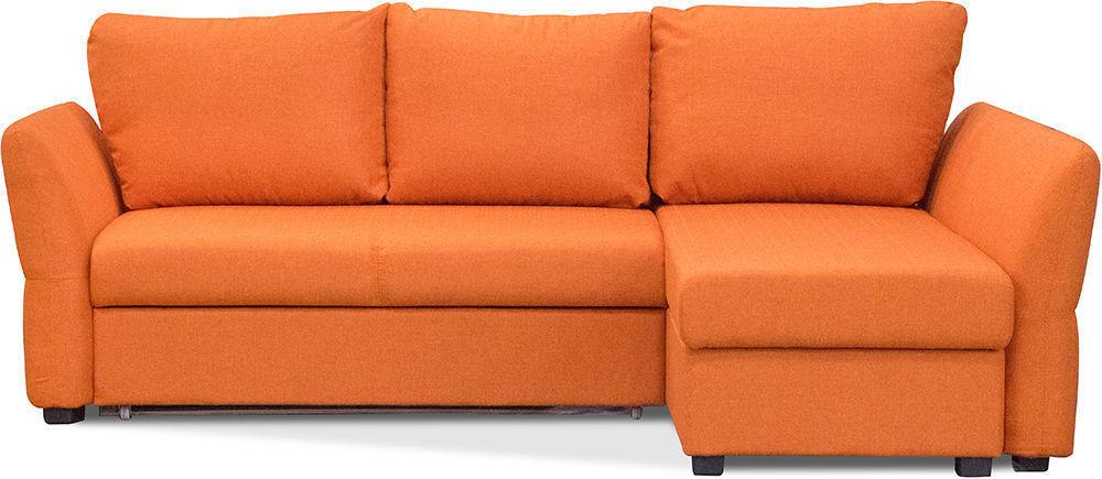 Диван Woodcraft Угловой Гесен Textile Orange - фото 1
