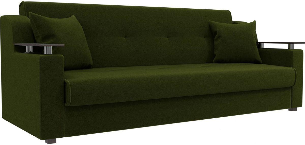 Диван Mebelico Сенатор 100615 микровельвет зеленый - фото 4