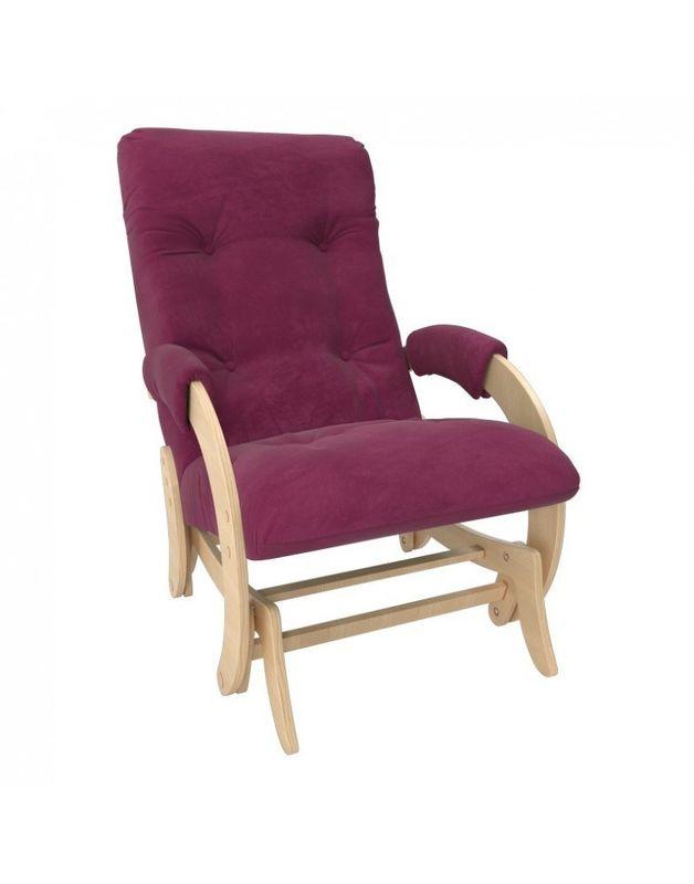 Кресло Impex Кресло-гляйдер Модель 68 Verona натуральный (apple green) - фото 2