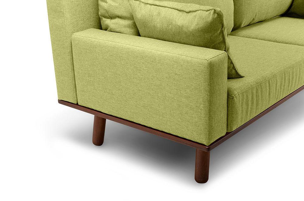 Диван Woodcraft Миннесота Textile Lime - фото 9