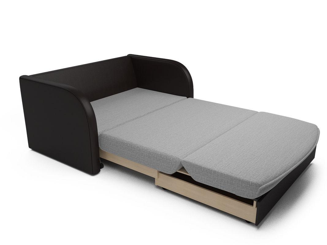 Диван Мебель-АРС Малютка (рогожка серая) - фото 5