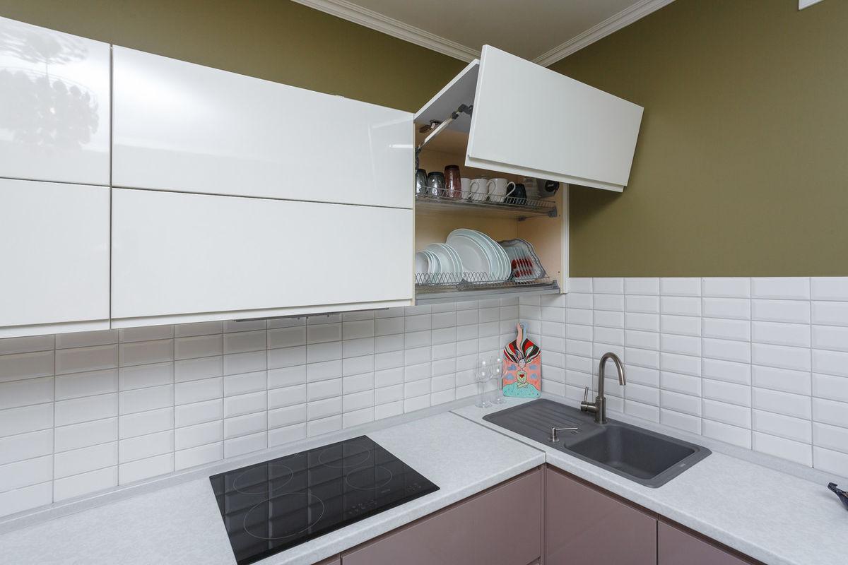 Кухня AlvaLine Breeze (кофе с молоком) - фото 14