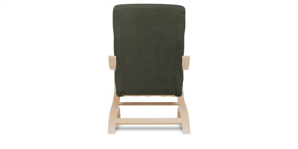 Кресло WOWIN Вейв (Темно-коричневый велюр) - фото 5