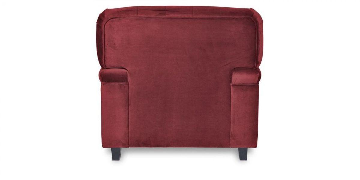 Кресло WOWIN Фулхаус (Бордовый велюр) - фото 5