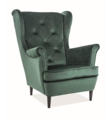 Кресло Signal Lady Velvet Bluvel 78 (зеленый) - фото 1