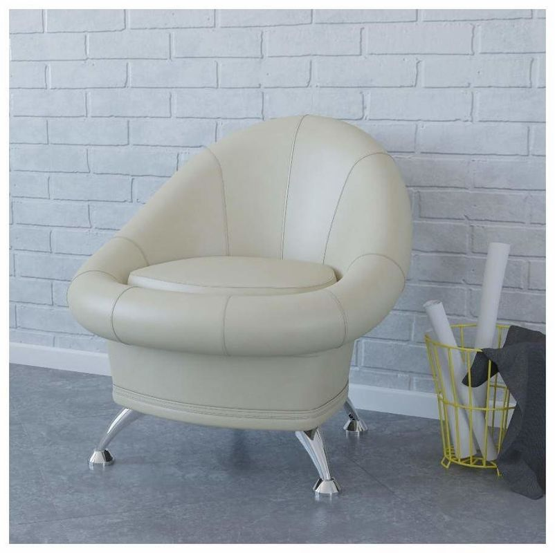 Кресло Гранд-Кволити 6-5104 TRM_6-5104bBASH, бежевый - фото 3