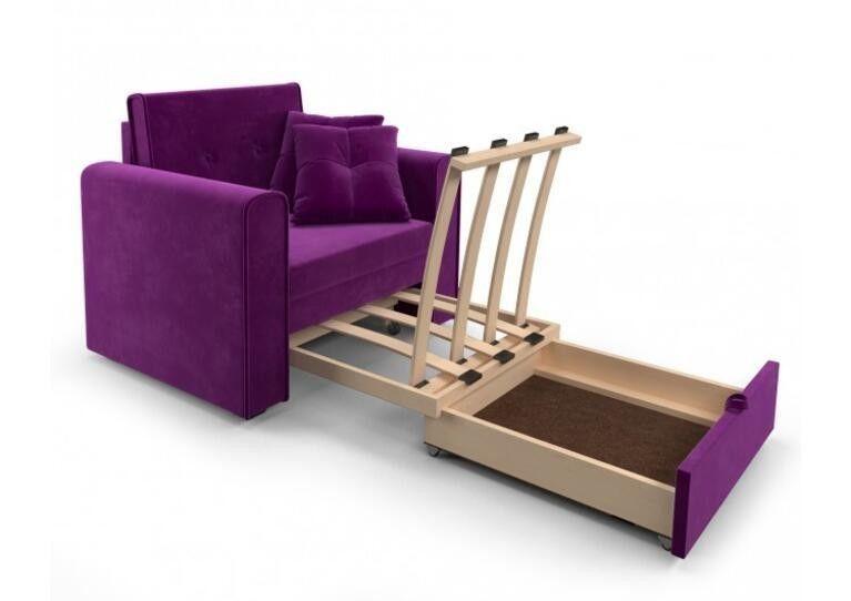 Кресло Craftmebel Санта (фиолет) - фото 4