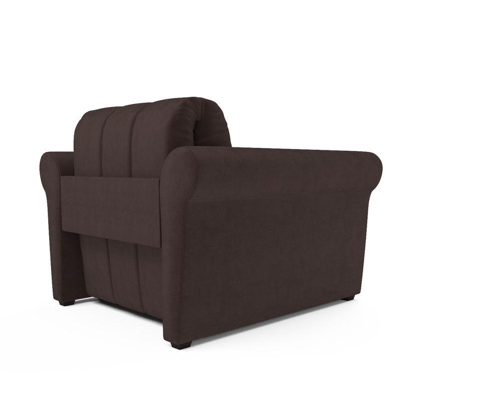 Кресло Мебель-АРС Гранд молочный шоколад велюр (НВ-178/13) - фото 4