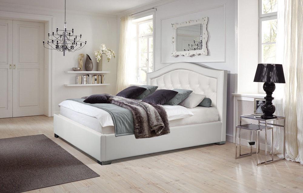 Кровать Grand Manar Дарина с фигурным изголовьем (180x200 ортопедическое основание) - фото 1