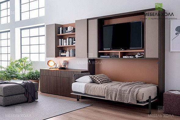 Мебель-трансформер Мебель Холл Лакони - фото 5