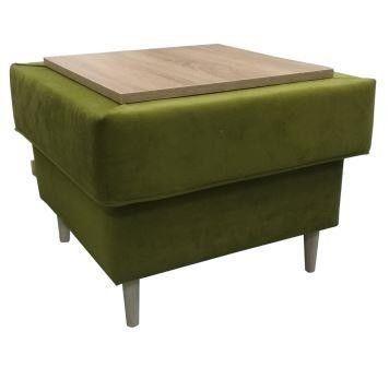Пуфик Виктория Мебель Ника ПД3 МК 2 со столиком - фото 1