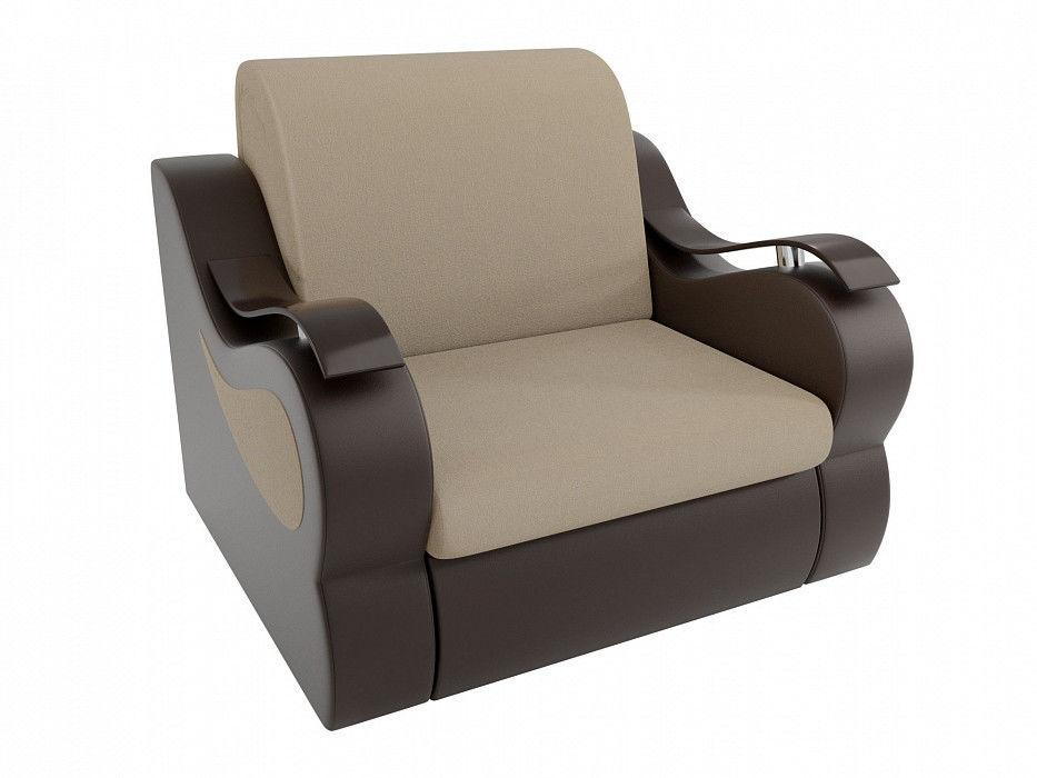 Кресло ЛигаДиванов Меркурий (100682) рогожка/экокожа - фото 2
