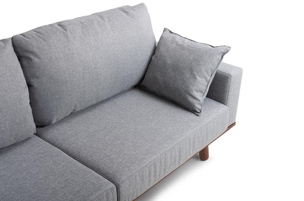Диван Woodcraft Миннесота Textile Grey - фото 8