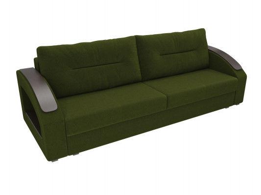 Диван ЛигаДиванов Канзас 100960 микровельвет зеленый - фото 3
