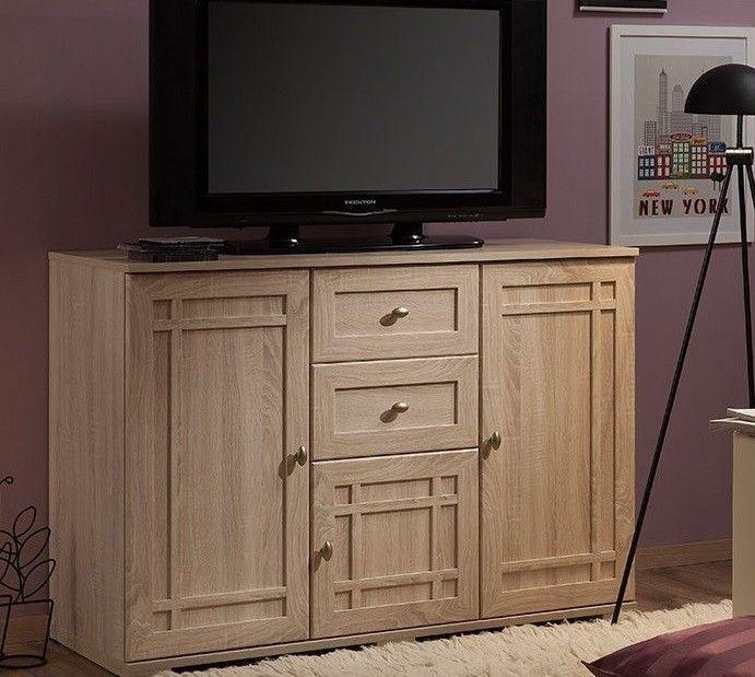 Тумбочка Глазовская мебельная фабрика Sherlock 5 МЦН (дуб сонома) - фото 1