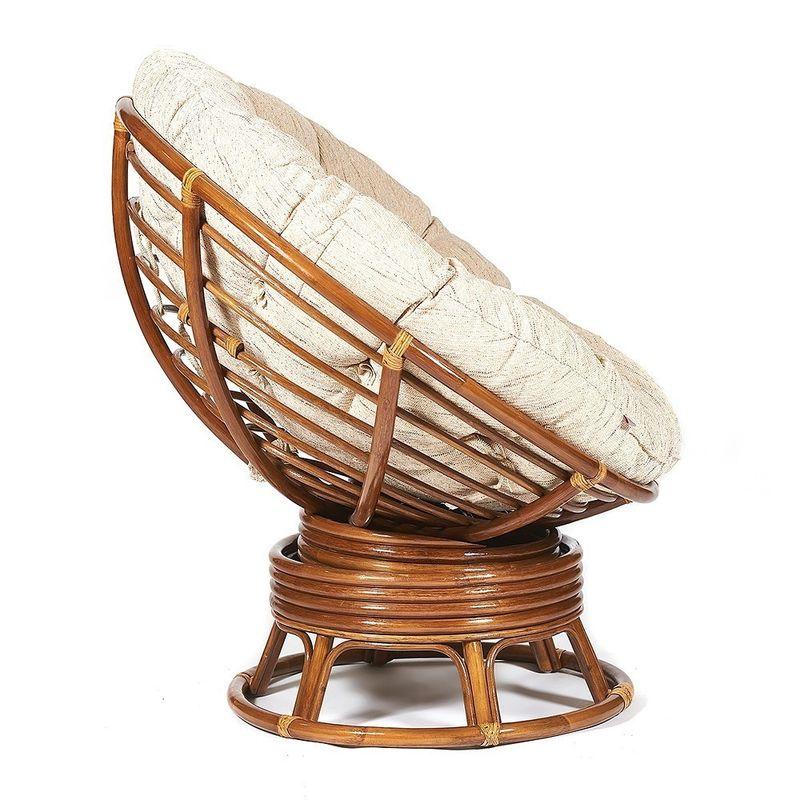 Кресло TetChair Papasan TET_10523, коричневый - фото 4