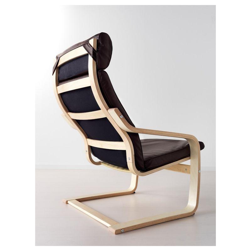 Кресло IKEA Поэнг 792.514.63 - фото 4