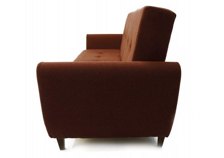Диван Луховицкая мебельная фабрика Сканди коричневый - фото 3