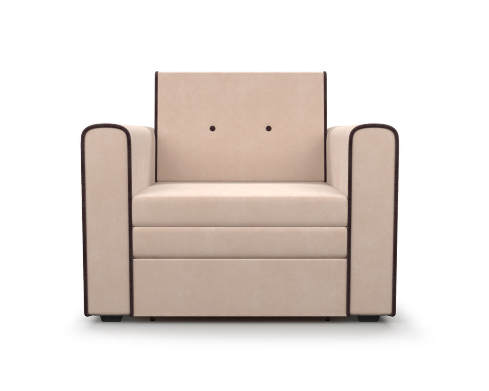 Кресло Мебель-АРС Санта (кордрой бежевый) - фото 3
