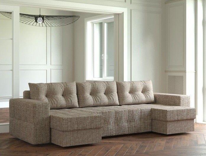 Диван Настоящая мебель Ванкувер Мейсон (модель: 00-00000073) коричневый - фото 1