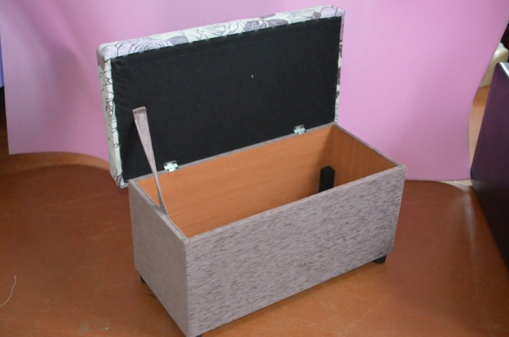 Пуфик Вливск-Мебель 40x80 с нишей - фото 8