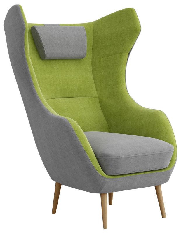 Кресло R-Home Сканди-2 RST_4017223h_grin, зеленый/серый - фото 1