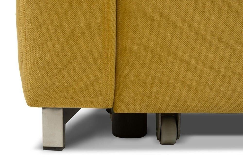 Диван Woodcraft Модульный Гувер-2 Velvet Yellow (уцененный) - фото 27