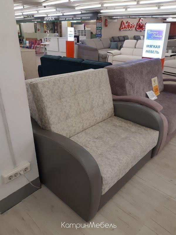Диван DM-мебель Эврика (2М, серый/бежевый) - фото 3