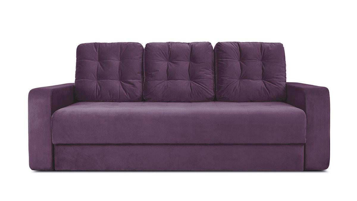 Диван ТриЯ «Колин» (Kolibri Violet (велюр) фиолетовый) - фото 2