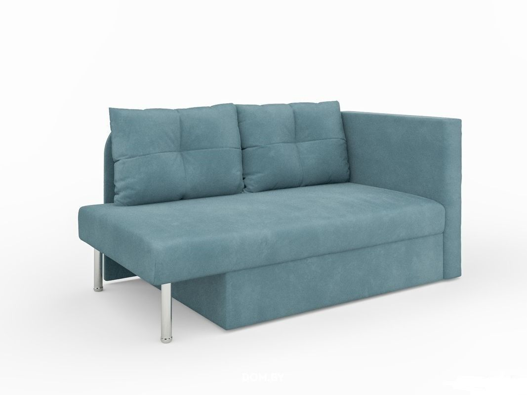 Диван Мебель-АРС Алиса Luna 089 голубой - фото 1