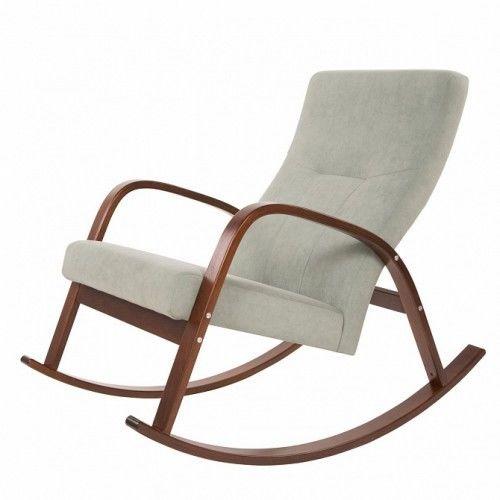 Кресло Greentree Ирса ткань ткань минт / каркас вишня - фото 1