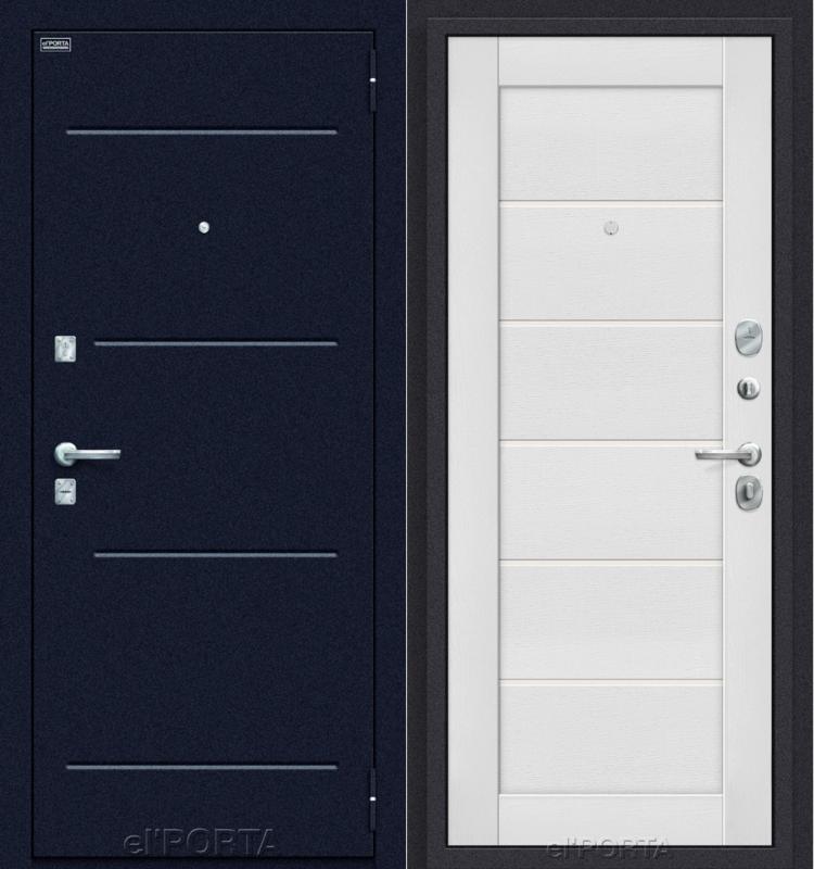 Входная дверь el'PORTA Техно Wirgin White - фото 1