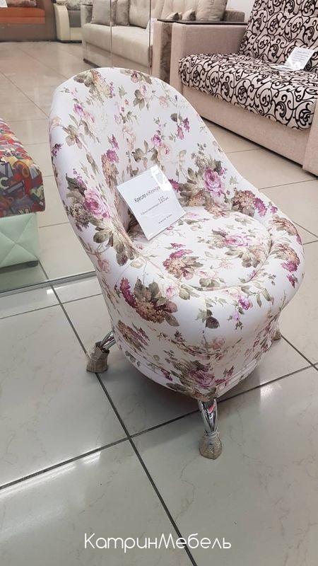 Кресло DM-мебель Жемчужина (цветы 1) - фото 2