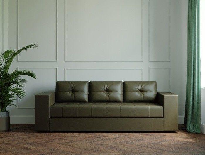 Диван Настоящая мебель Ванкувер Лайт (модель: 00-00003450) черный - фото 1