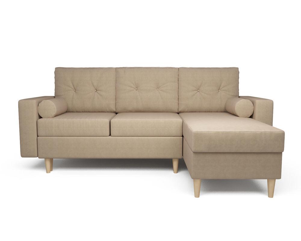 Диван Мебель-АРС Белфаст (рогожка бежевая) - фото 2