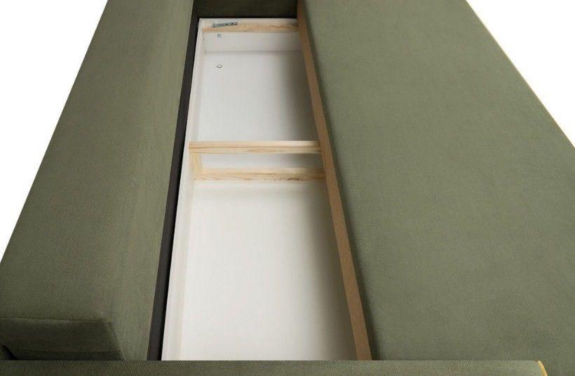 Диван Woodcraft Менли НПБ холлофайбер Velvet Green - фото 10